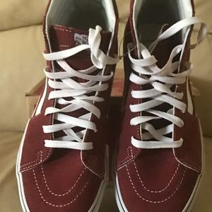 Van sneakers size 10